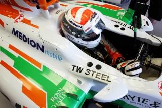 © Sutton - Un 100ème Grand Prix qui commence bien pour Sutil
