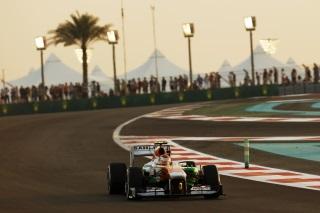 © Sutton - Sutil est en souffrance à Abu Dhabi