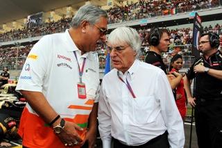 Ecclestone et Mallya sont inquiets du bruit actuel des moteurs de F1