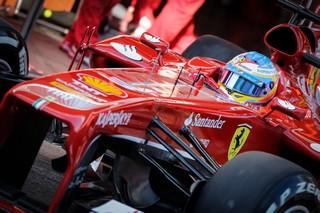 © V. Guignet / Fan-F1 - La Ferrari est à sa place à Melbourne