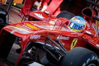 © Ferrari - Fernando Alonso est ravi d'être devant les Red Bull