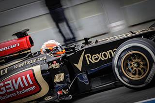 © V.Guignet/Fan F1 - Grosjean est très affuté ce week-end