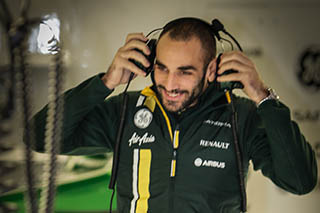 © V. Guignet / Fan-F1.com - Cyril Abiteboul, le directeur de Caterham, nous a reçu à Monza