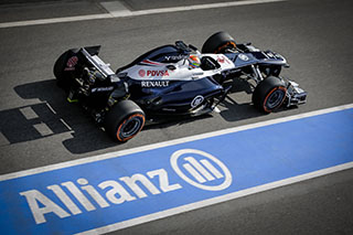 © V.Guignet / Fan-F1 - Maldonado cale en Q1