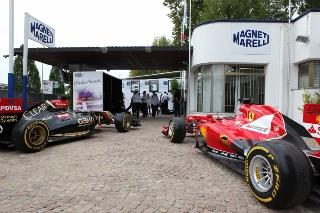 © Magneti Marelli - L'entreprise italienne équipe de nombreuses écuries en F1 et dans d'autres sports