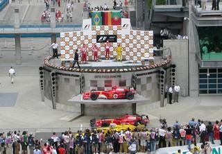 Les huées accompagnent le podium à Indianapolis