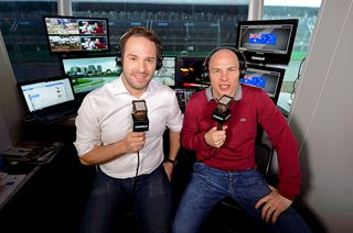 © Canal+ - Julien Febreau et Jacques Villeneuve continueront à commenter les Grands Prix depuis leur cabine