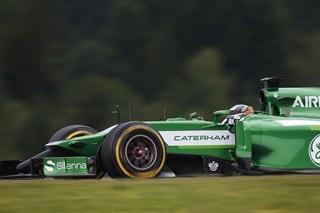 © Caterham - Kobayashi n'a pas réussi à rester devant Bianchi lors du Grand Prix d'Autriche