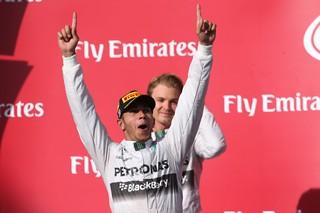 © Daimler - Hamilton se sent bien en Formule 1 chez Mercedes