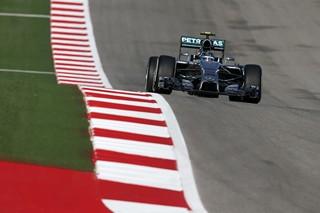 © Daimler - Rosberg signe la pole à Austin