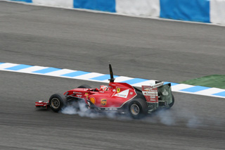 © Fan-F1.com / La F14T de Raikkonen aura été la plus endurante aujourd'hui