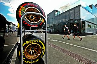 © Quentin Laurent / Fan-F1 - Pas de surprises sur le plan des pneus