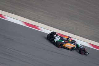 Perez a souffert en qualifications en Hongrie