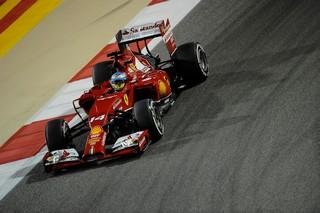 © Ferrari - Alonso à l'aise dans la nuit