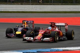 © Ferrari - Ricciardo et Fernando