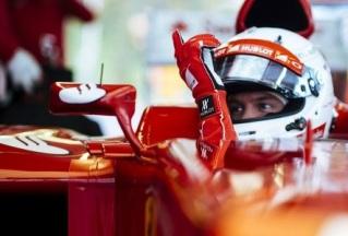 © Ferrari - Vettel dans ses nouveaux habits rouges