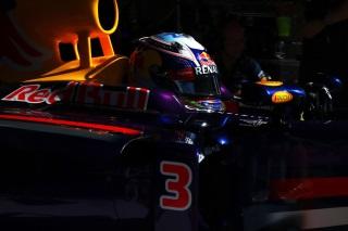 Daniel Ricciardo en recherche d'adhérence