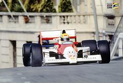 © Instituto Ayrton Senna - En 1990, la McLaren de Senna est affublée du légendaire numéro 27.