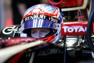 © LAT - Grosjean a conduit Lotus vers les points