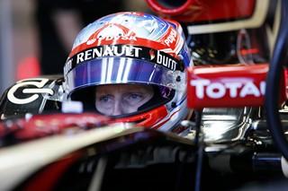 © LAT - Grosjean a conduit Lotus vers les points