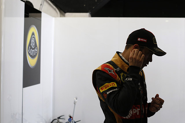 © LAT - Mauvaise journée pour Maldonado à Silverstone