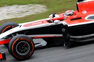 Bianchi n'est pas devant Kobayashi