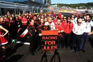 © Marussia - La communauté des sports automobiles pense toujours à Jules Bianchi