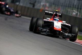© Marussia - Chilton s'en sort mieux que son coéquipier