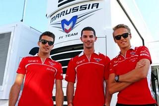 © Marussia - Chilton et Rossi recherchent un point de chute après la disparition de l'écurie Marussia F1