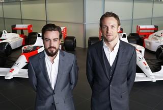 © McLaren - Un line-up et une monoplace homologuée, McLaren en route vers 2015