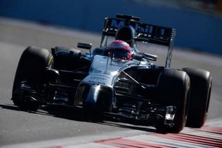© McLaren - La MP4-29 peine en ligne droite à Interlagos