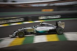 © Mercedes - Rosberg saura-t-il convertir sa pole en victoire à Sao Paulo ?