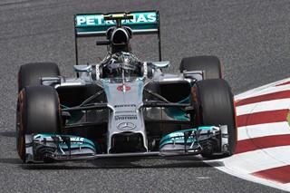 Rosberg a réalisé le meilleur temps