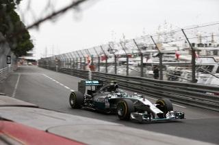 © Mercedes - Une nouvelle pole pour Rosberg à Monaco !