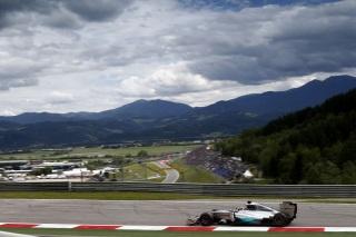 © Mercedes - Hamilton est ravi de piloter sur le Red Bull Ring