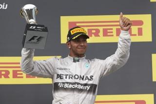© Mercedes - Hamilton satisfait de son podium hongrois