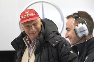 Niki Lauda optimiste pour les relations entre Lewis Hamilton et Nico Rosberg en 2015