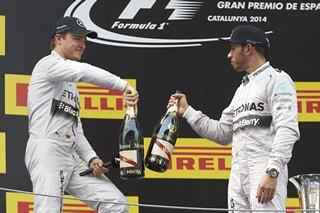 © Mercedes - Rosberg et Hamilton avaient raté leurs qualifications, ils se sont rattrapés en course !