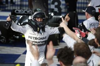 © Mercedes - Une pole de plus pour Rosberg en 2014 !