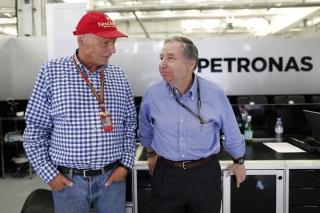 © Mercedes - Lauda pas fan de la Formule E récemment lancée par Jean Todt et la FIA
