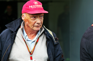 Lauda satisfait de la victoire de Ferrari