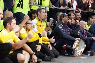 © Renault Sport F1 - Les temps de l'association Red Bull - Renault sont comptés