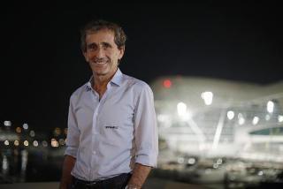© Renault Sport F1 - Prost sera en piste à Silverstone ce week-end