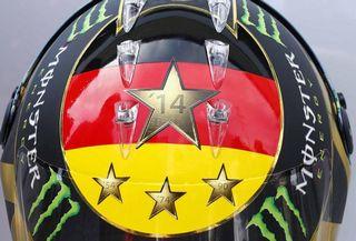 © N. Rosberg / Schuberth - Le casque du pilote Mercedes à Hockenheim