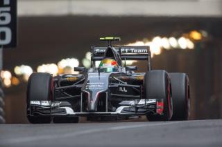 © Sauber - Gutiérrez devance Sutil sur la grille à Monaco