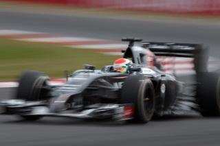 © Sauber - Sutil n'a pas pu prendre part à la Q2 à Silverstone