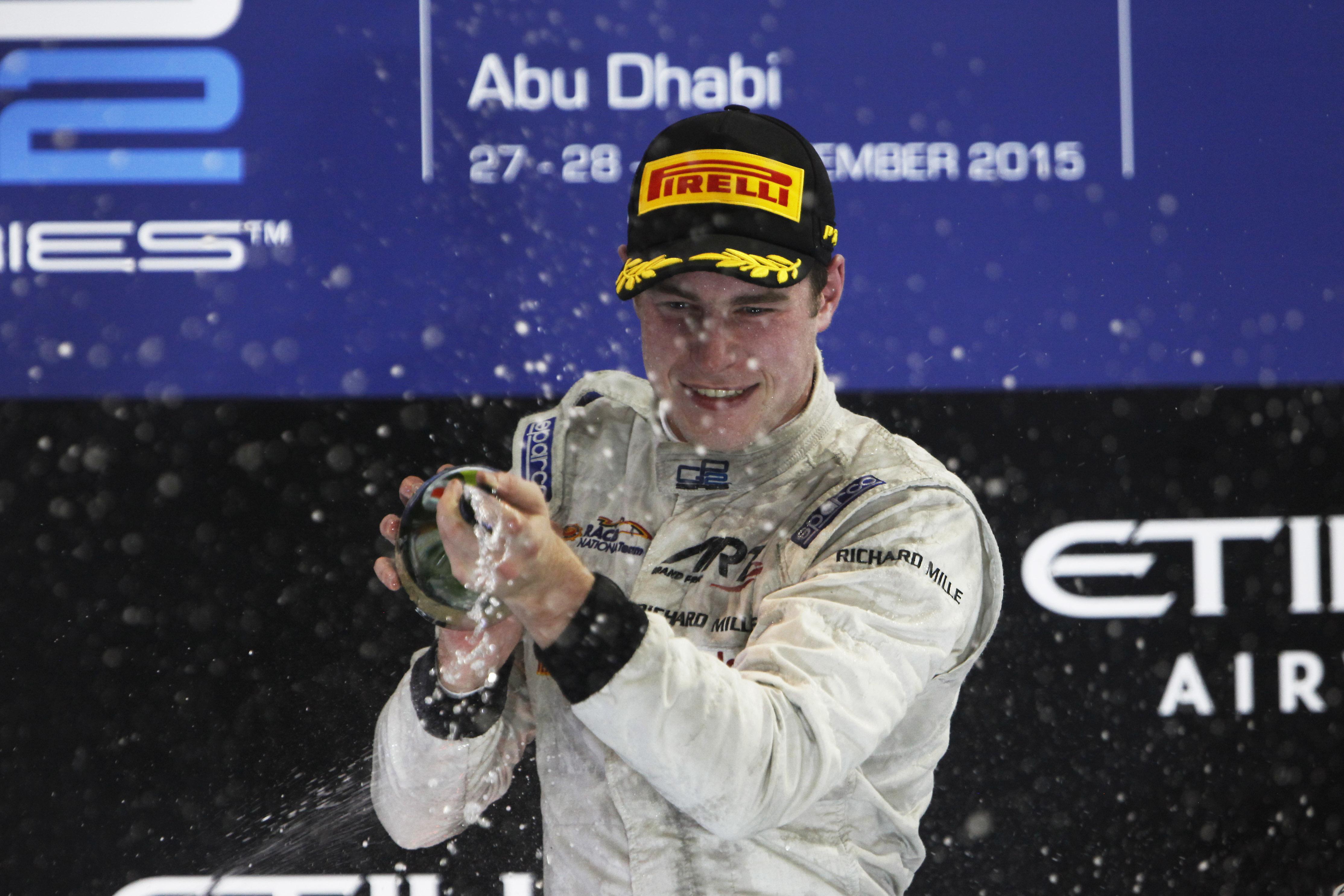 Stoffel Vandoorne a poursuivi sa domination du GP2