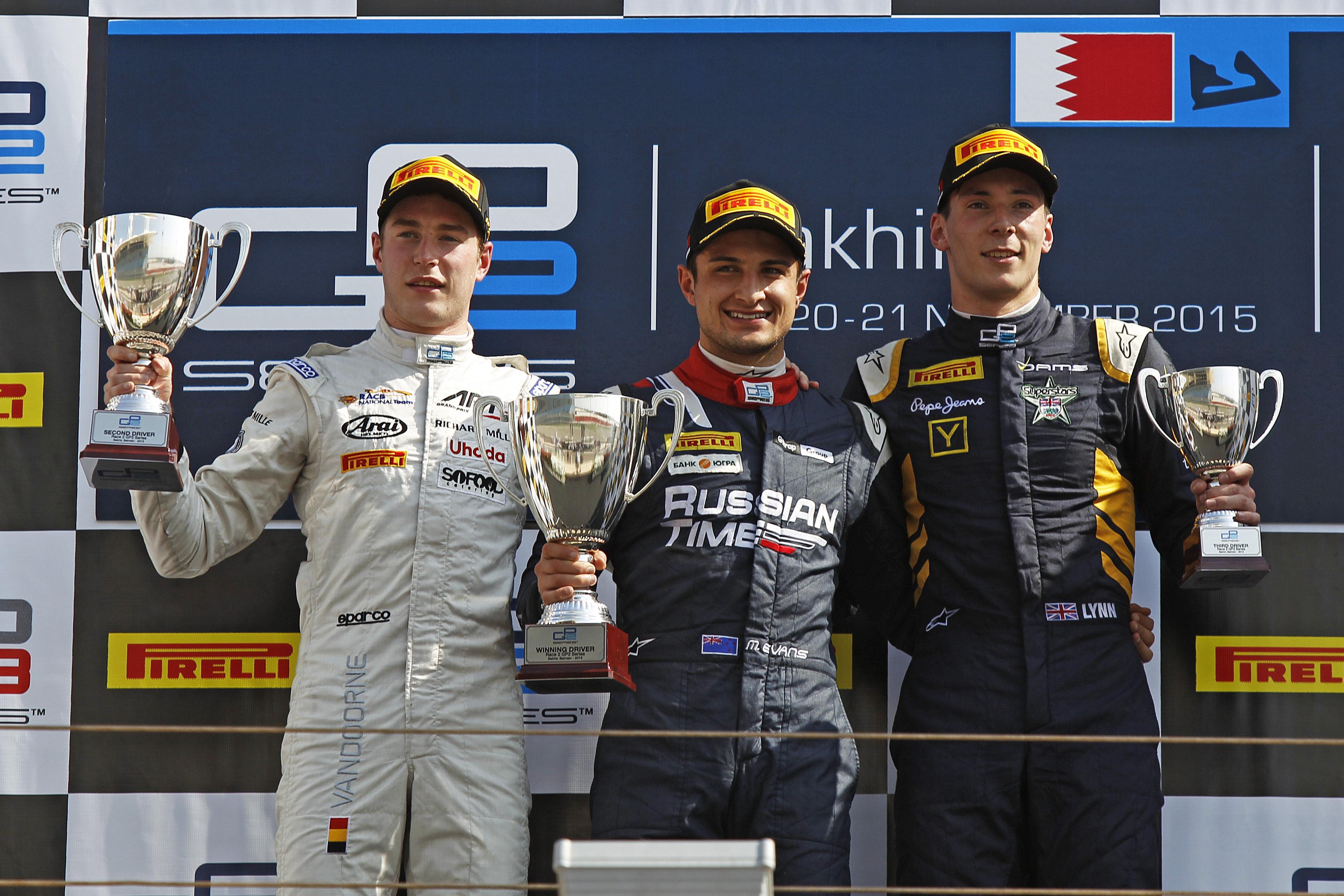 © GP2 Media Service - Mitch Evans remporte sa seconde victoire de la saison