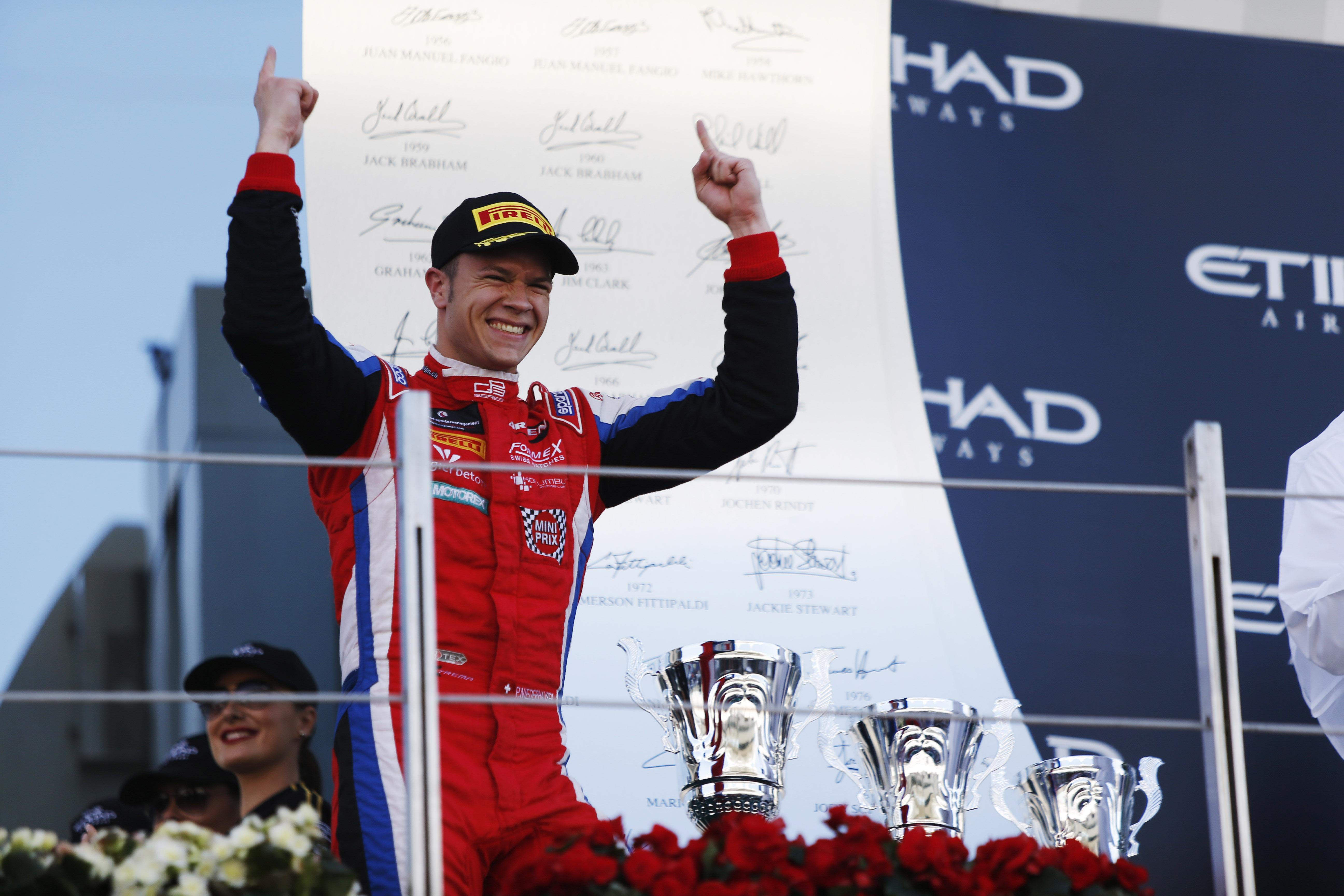 © GP3 Media Service - Patrick Niederhauser va découvrir le GP2 à Monza