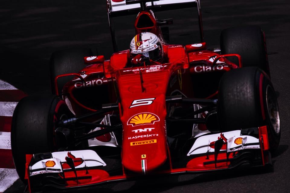 Ferrari: Vettel à la fête, Raikkonen fait la tête à Monaco
